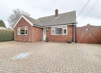 Thumbnail 4 bed detached bungalow for sale in Gravel Pit Lane, Kirmington, Ulceby