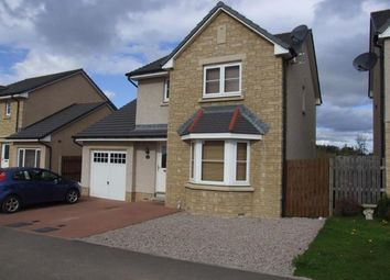 Thumbnail 4 bed detached house to rent in Castleview Avenue, Kintore, Inverurie