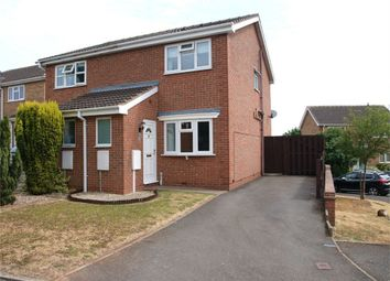Thumbnail 2 bed semi-detached house for sale in Jasmine Close, Burton-On-Trent, Staffordshire