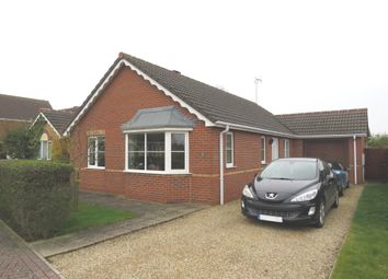 Thumbnail 3 bed detached bungalow for sale in Spencer Gardens, Holbeach, Spalding