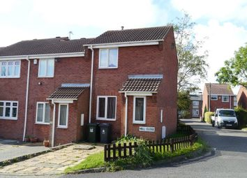 Thumbnail 1 bed end terrace house for sale in Mill Close, North Shields