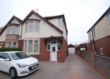 Thumbnail 3 bed semi-detached house for sale in Faringdon Avenue, Blackpool