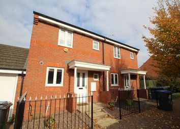 Thumbnail 2 bed semi-detached house for sale in Tee Tong Road, Long Lawford, Rugby