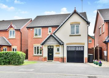 Thumbnail 4 bed detached house for sale in Rotherhead Drive, Macclesfield, Cheshire