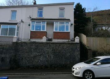Thumbnail 3 bed semi-detached house for sale in Vale View Villas, Ogmore Vale, Bridgend