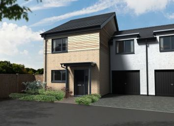 Thumbnail 3 bed semi-detached house for sale in Eaton Close, Eaton Ford, St Neots, Cambs