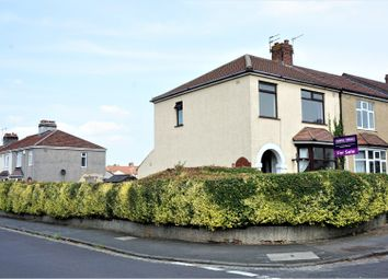 Thumbnail 3 bed end terrace house for sale in Burchells Avenue, Kingswood