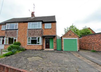 Thumbnail 3 bed semi-detached house for sale in Cotswold Close, Loughborough