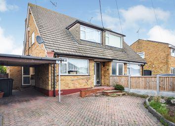 Thumbnail Semi-detached house for sale in Waxwell Road, Hullbridge, Hockley
