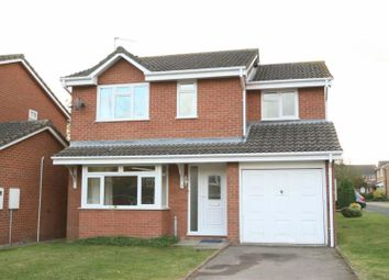Thumbnail 4 bed detached house to rent in Losecoat Close, Stamford