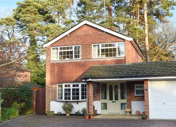 Thumbnail 3 bed detached house for sale in Westbury Close, Crowthorne, Berkshire
