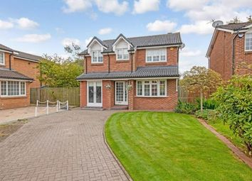 Thumbnail 4 bed detached house for sale in Crathes Gardens, Murieston, Livingston, West Lothian