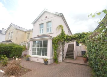 Thumbnail 2 bed flat to rent in Cricketfield Road, Torquay