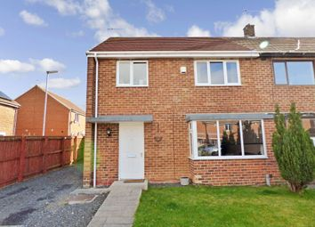 Thumbnail 3 bedroom semi-detached house for sale in Johnson Close, Peterlee