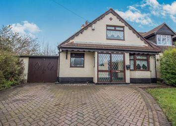 Thumbnail 3 bedroom detached bungalow for sale in Walker Road, Walsall