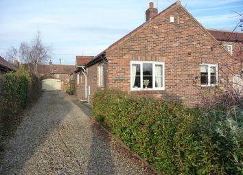 Thumbnail 2 bed detached bungalow to rent in South Back Lane, Stillington, York