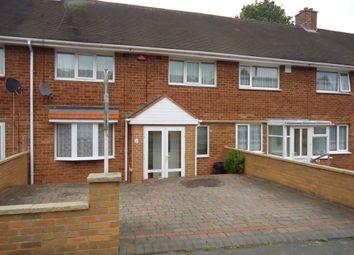 Thumbnail 3 bed terraced house to rent in Yenton Grove, Erdington, Birmingham
