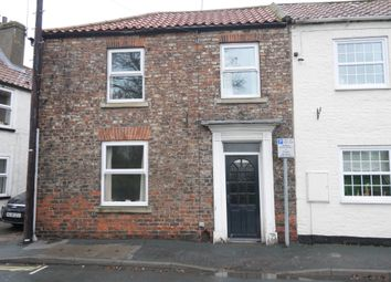 Thumbnail 2 bed end terrace house to rent in Hailgate, Howden, Goole