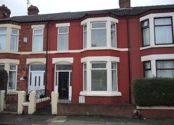 Thumbnail 3 bed terraced house for sale in Knoclaid Road, Tuebrook, Liverpool