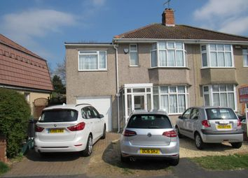 Thumbnail 4 bed semi-detached house to rent in Luckington Road, Monks Park, Bristol