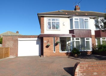 Thumbnail 4 bed semi-detached house for sale in Millview Drive, Tynemouth, North Shields