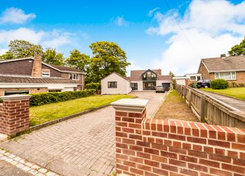 Thumbnail 4 bed detached bungalow for sale in Manor Road, Hartlepool