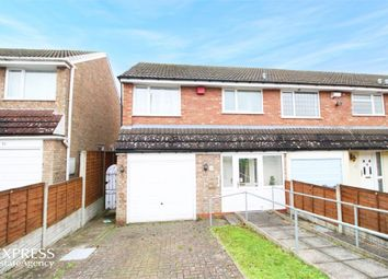 Thumbnail 3 bed end terrace house for sale in Nutbush Drive, Birmingham, West Midlands