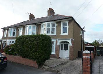 Thumbnail 3 bed semi-detached house for sale in Tyn Y Cae Grove, Rhiwbina, Cardiff