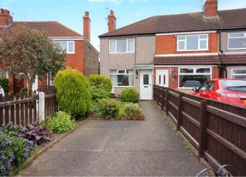 Thumbnail 2 bed end terrace house for sale in Grove Crescent, Grimsby