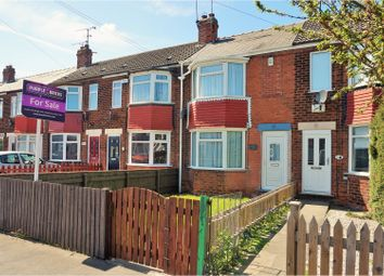 Thumbnail 2 bedroom terraced house for sale in Foredyke Avenue, Hull