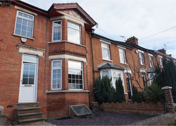 Thumbnail 3 bed terraced house to rent in Postley Road, Maidstone