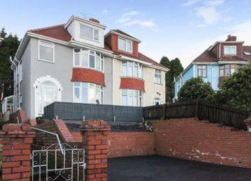 Thumbnail 5 bedroom semi-detached house for sale in Lon Bryngwyn, Sketty, Swansea