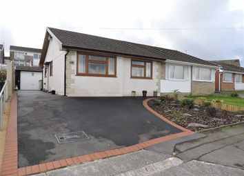 Thumbnail 2 bedroom semi-detached bungalow for sale in Pine Crescent, Morriston, Swansea