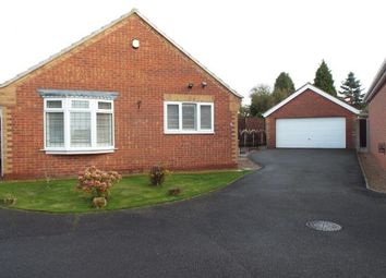 Thumbnail 3 bed bungalow for sale in York Grove, Kirkby-In-Ashfield, Nottingham