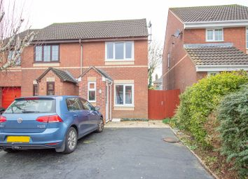 Thumbnail 2 bed semi-detached house for sale in Trewithy Court, Crownhill, Plymouth