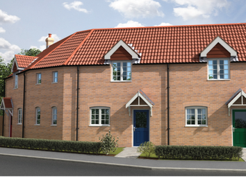 Thumbnail 2 bed terraced house for sale in The Holborn, Curtis Drive, Coningsby, Lincolnshire