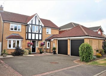 Thumbnail 4 bed detached house for sale in Robinson Way, Markfield