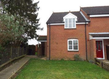 Thumbnail 2 bedroom end terrace house for sale in Great Dunham, King's Lynn