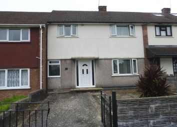 Thumbnail 3 bed terraced house for sale in Worle Avenue, Llanrumney, Cardiff