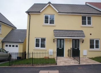 Thumbnail 2 bed end terrace house to rent in Darwin Crescent, Torquay
