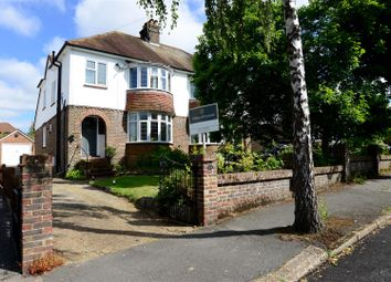 Thumbnail 3 bed semi-detached house to rent in Woodbury Avenue, Petersfield