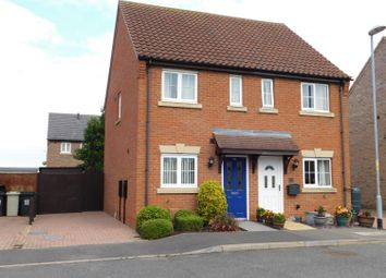Thumbnail 2 bed semi-detached house for sale in Hudson Way, Skegness