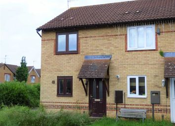 Thumbnail 2 bed terraced house for sale in Laburnum Close, Woodford Halse, Northants