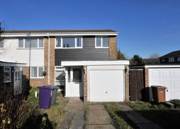 Thumbnail 3 bedroom semi-detached house to rent in Burns Road, Royston