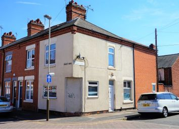 Thumbnail 2 bed end terrace house for sale in Fernie Road, Leicester