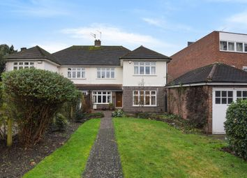 Thumbnail 4 bedroom semi-detached house to rent in Upper Brighton Road, Surbiton
