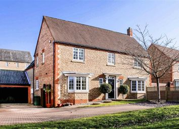 Thumbnail 4 bed detached house for sale in Sheridan Grove, Oxley Park, Milton Keynes
