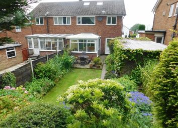 Thumbnail 3 bed semi-detached house for sale in Briarley Gardens, Woodley, Stockport