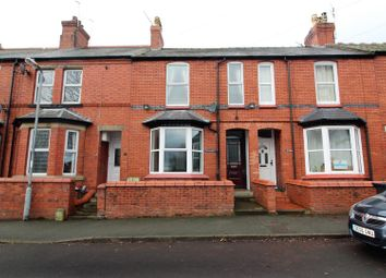 Thumbnail 3 bed terraced house to rent in Gatacre Road, Oswestry