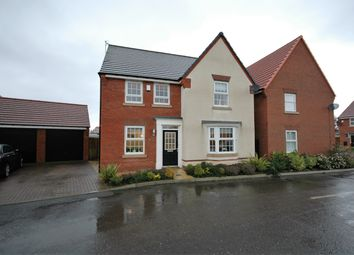 Thumbnail 4 bed detached house for sale in Bretton Close, Washington